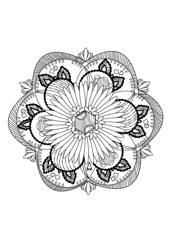 Mandalas Para Colorear Dibujos Mandalas Para Imprimir