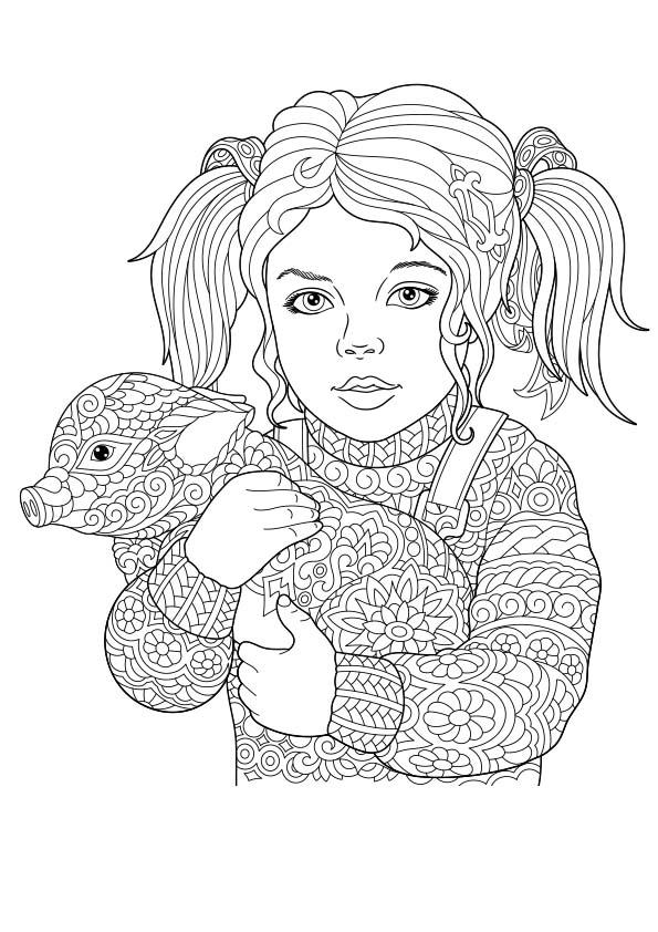Volwassen Kleurplaten En Mandalas Dibujo Para Colorear Mandala Ilustraci 243 N Silueta Ni 241 A Con