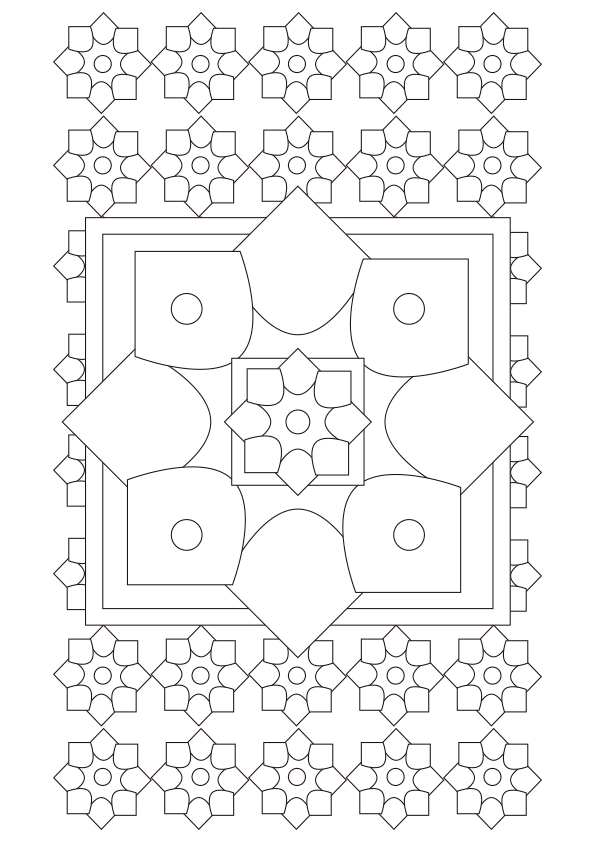 Dibujos Para Colorear Mandalas Imprimir - Mandalas-sin-pintar