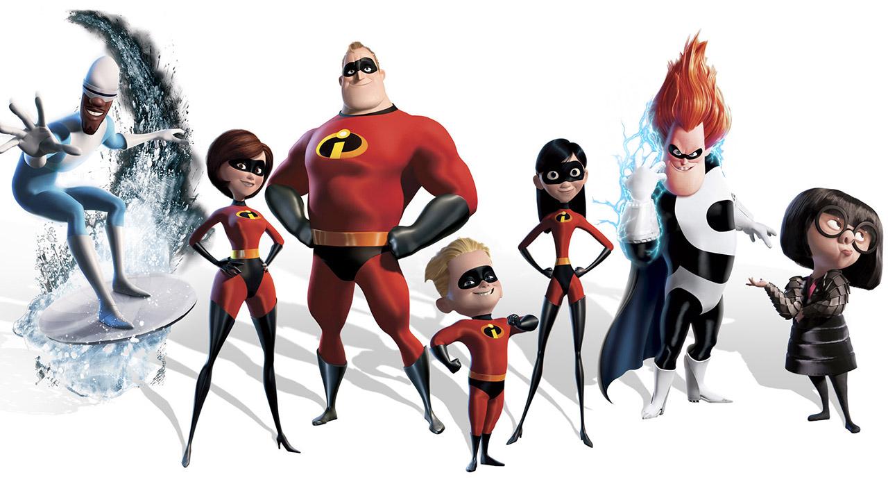 Dibujos Para Colorear Los Increíbles Pixar Dibujos Para