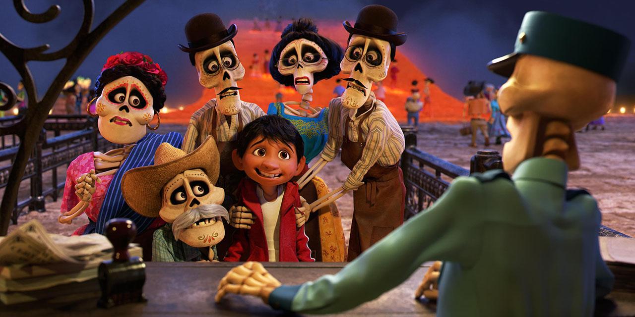 Coco dibujos para colorear de Coco de Pixar, dibujos para imprimir ...