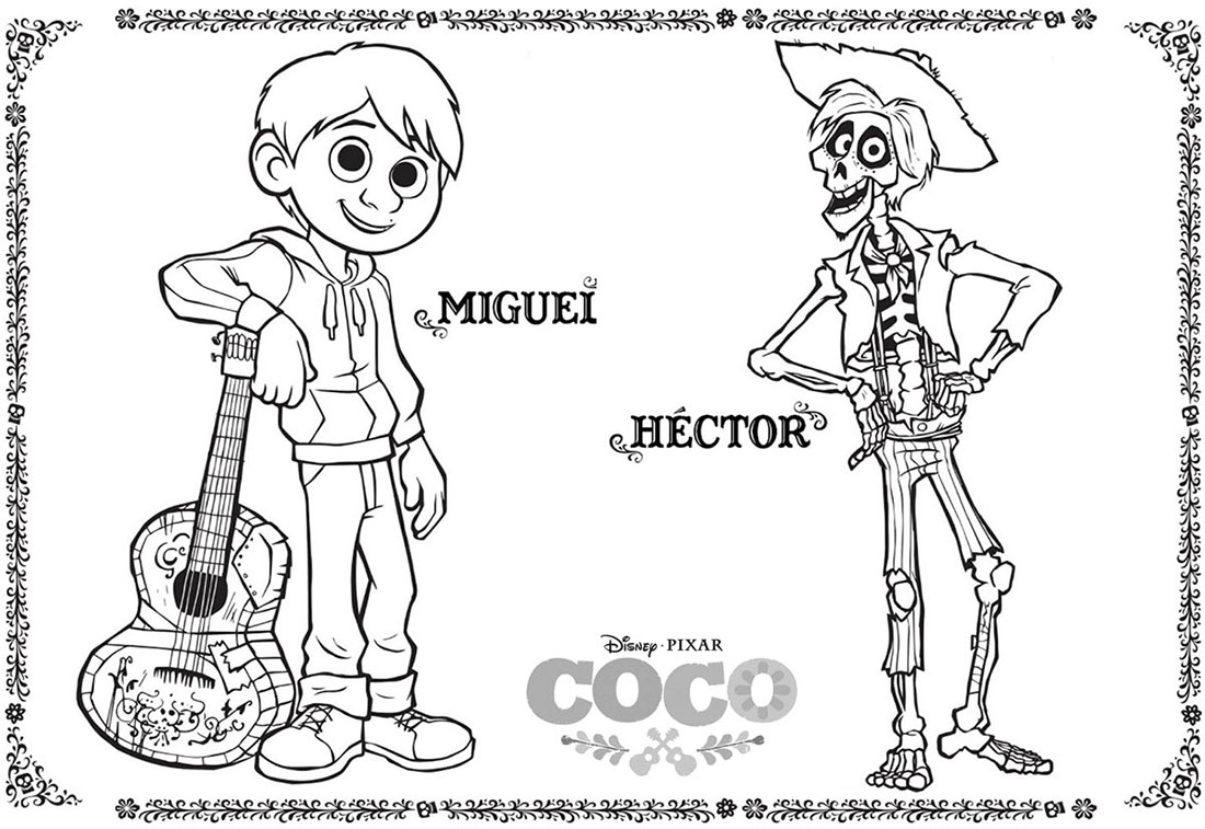 Imagenes De Dibujos Animados De Disney Para Colorear: Dibujos Para Colorear Infantiles, Dibujos Personajes