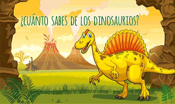Juego de preguntas ¿Cuánto sabes sobre los dinosaurios? nº1
