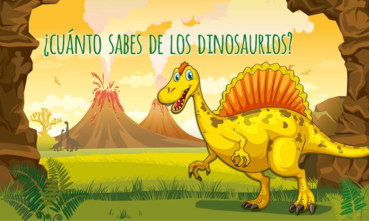 Juego de preguntas y respuestas ¿Cuánto sabes de los dinosaurios?