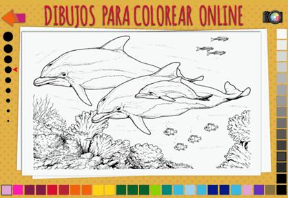Dibujos para colorear online