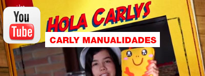 Canal de YouTube Carly Manualidades