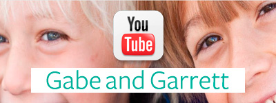Canal de YouTube Gabe and Garrett