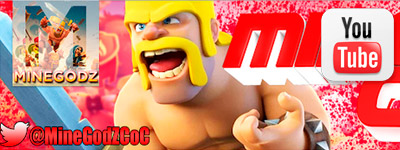 Canal de YouTube MinegodzCoC para aprender a jugar a Clan of Clash