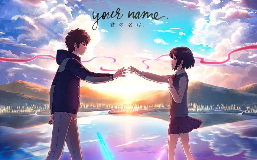 Película Your Name del director japonés Makoto Shinkai