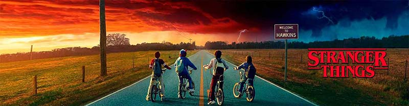 Series de televisión Stranger Things
