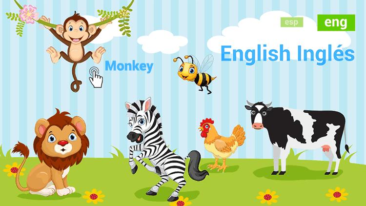 Juegos de animales interactivos para aprender el nombre de los animales