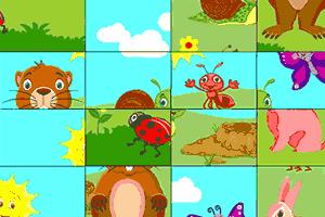 Juego puzzle de animales EPDLD 1