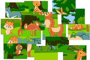 Juego puzzle de animales EPDLD 2