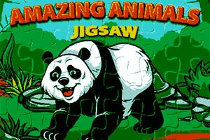 Juego puzzle de animales increíbles