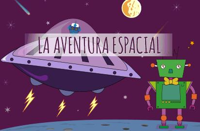 Juegos interactivos de preguntas y respuestas La aventura Espacial