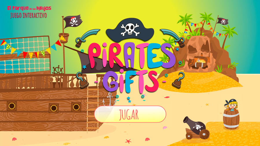 Juego infantil interactivo de piratas Pirates Gifts