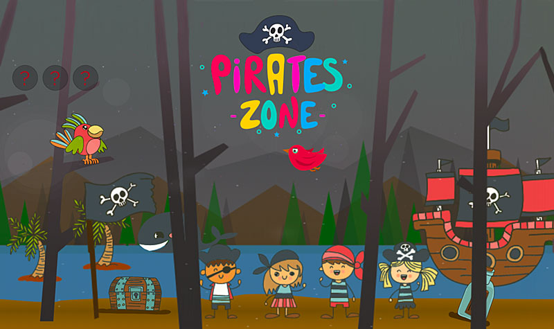 Juegos infantiles de piratas online